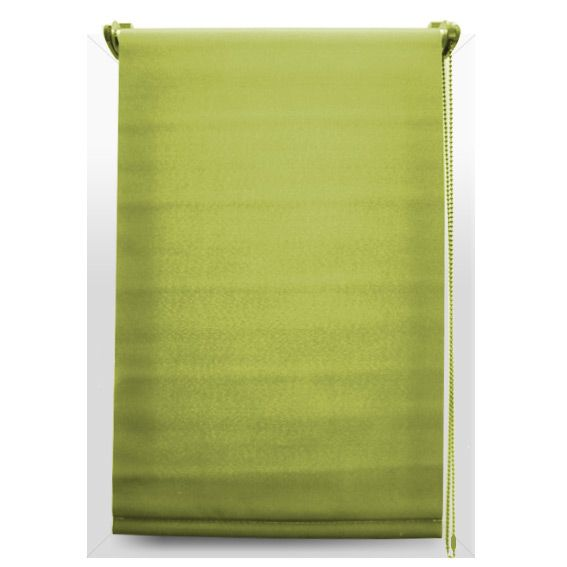 store enrouleur tamisant 60 x h90 cm uni vert eminza. Black Bedroom Furniture Sets. Home Design Ideas