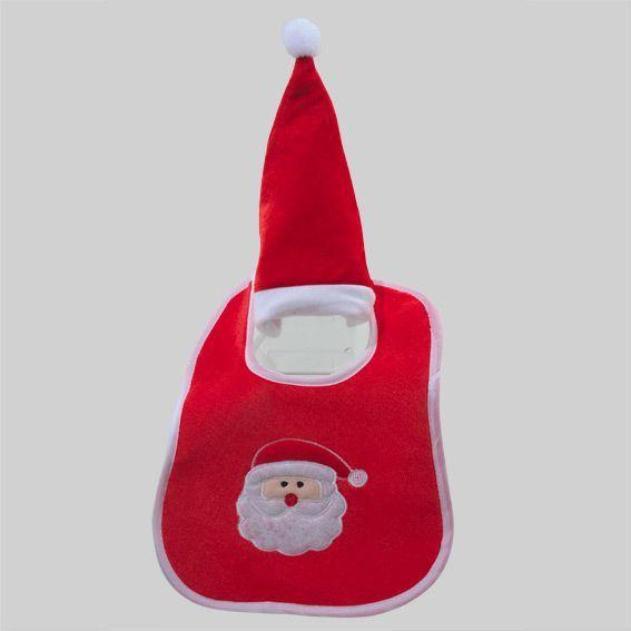 6f0e98d211106 Ensemble 1er Noël pour bébé Père Noël - Boule et déco de sapin - Eminza