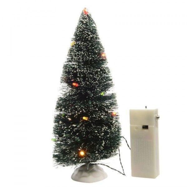 beleuchtete tanne f r weihnachtsdorf led mehrfarbig weihnachtsd rfer eminza. Black Bedroom Furniture Sets. Home Design Ideas