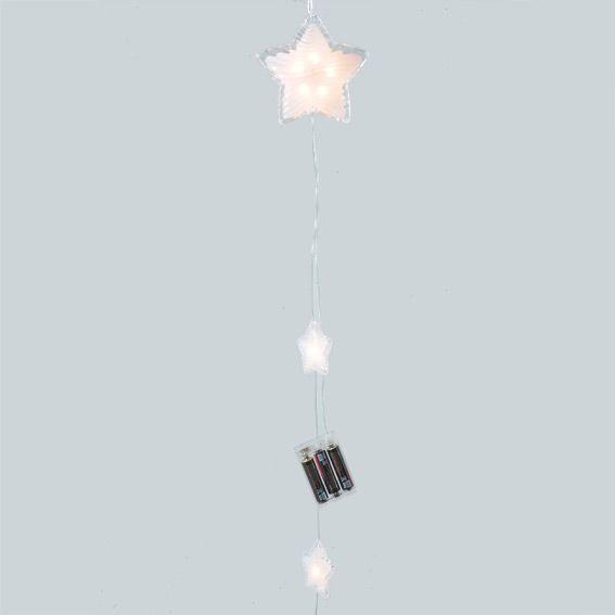Suspension lumineuse LED Etoiles Blanc chaud