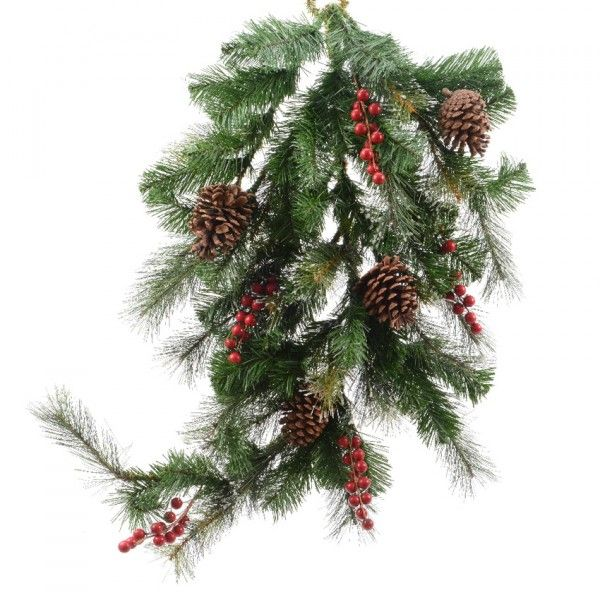 Kerstversiering Tafel: Kerstkransen En Kersttakken