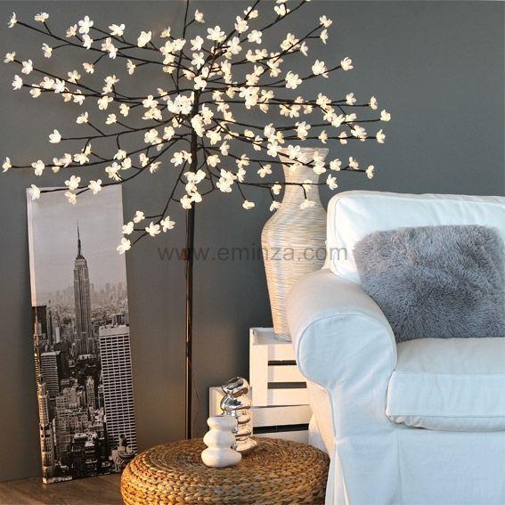 arbre de no l lumineux karo h180 cm brun arbres lumineux eminza. Black Bedroom Furniture Sets. Home Design Ideas