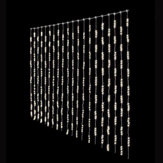 lichtervorhang