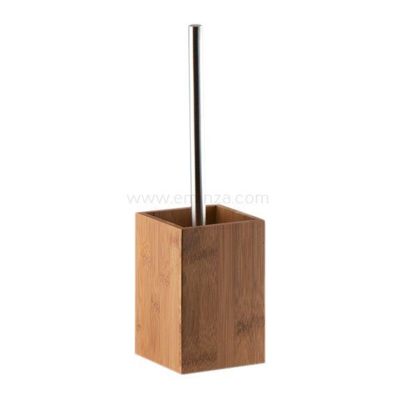 Brosse de toilettes WC Bois & Bambou - Brosse WC - Eminza