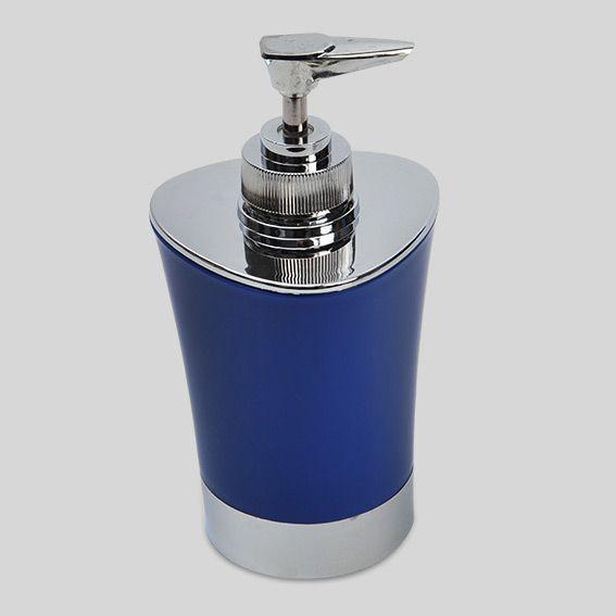 distributeur de savon happy bleu accessoire salle de. Black Bedroom Furniture Sets. Home Design Ideas