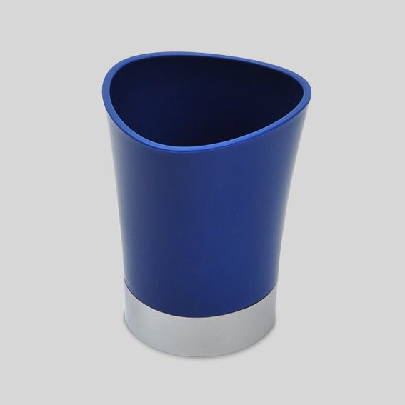 gobelet happy bleu accessoire salle de bain eminza. Black Bedroom Furniture Sets. Home Design Ideas