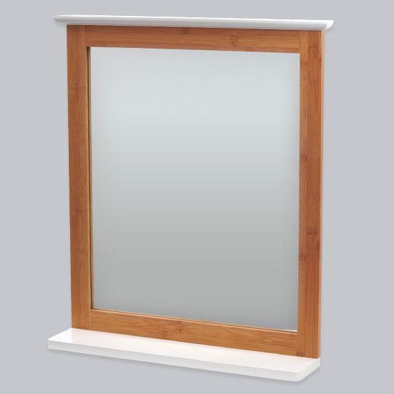 miroir de salle de bain bakou bois bambou miroir eminza. Black Bedroom Furniture Sets. Home Design Ideas