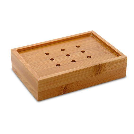 porte savon ecobio bois bambou accessoire salle de bain eminza. Black Bedroom Furniture Sets. Home Design Ideas