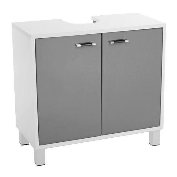 meuble dessous lavabo dinamo gris meuble de salle de. Black Bedroom Furniture Sets. Home Design Ideas