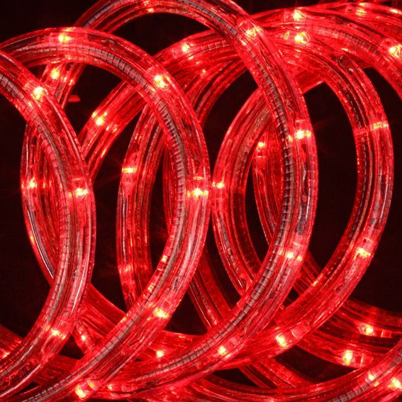 Tube lumineux 18 m Rouge 324 LED