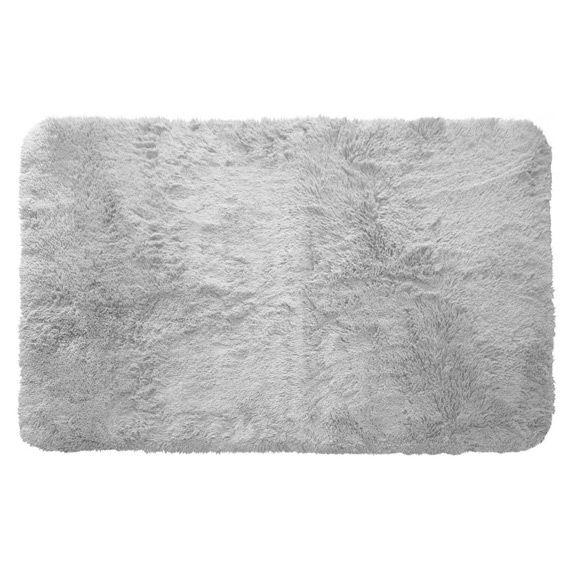 Tapis rectangulaire (80 cm) Marmotte Gris clair - Tapis de chambre ...