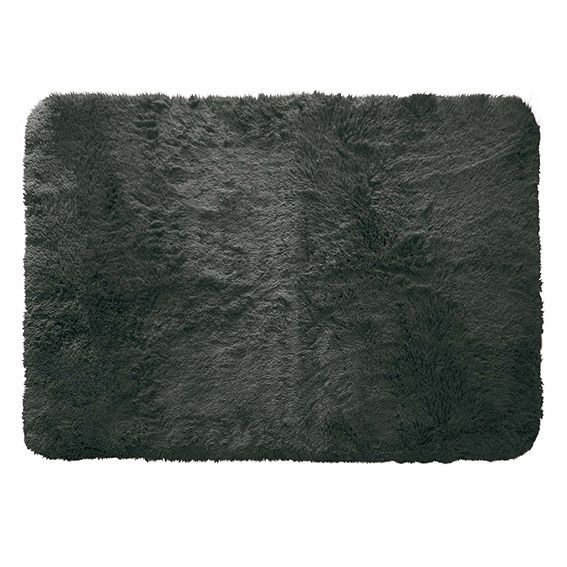 tapis rectangulaire 170 cm marmotte gris anthracite tapis eminza. Black Bedroom Furniture Sets. Home Design Ideas