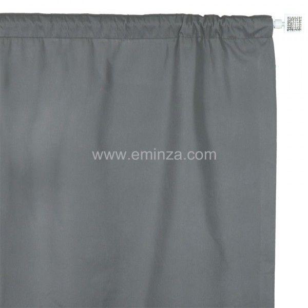 rideau thermique et isolant gris rideau et voilage. Black Bedroom Furniture Sets. Home Design Ideas