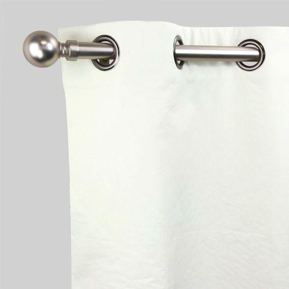 Rideau thermique et isolant rideau et voilage eminza - Rideau de porte isolant ...