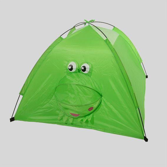 Tente de jardin pour enfant vert eminza for Tente enfant exterieur