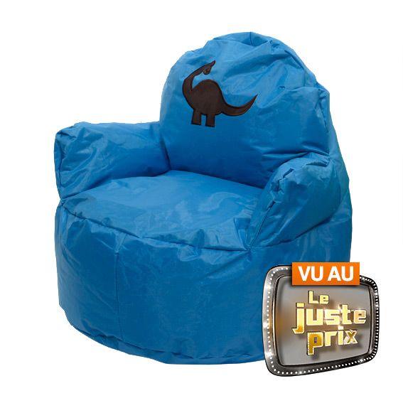 pouf fauteuil pour enfant bleu am nagement d 39 ext rieur. Black Bedroom Furniture Sets. Home Design Ideas