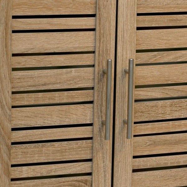 Meuble haut de salle de bain stockholm bois meuble bas for Meuble haut salle de bain bois