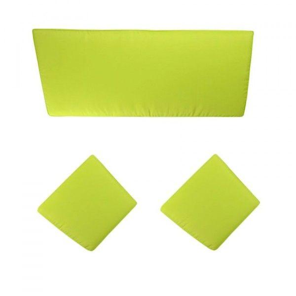 Coussin et housse de protection + Vert - Eminza