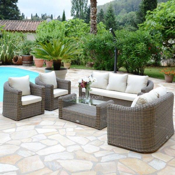 Best salon de jardin azua taupe contemporary amazing house design for Salon jardin gris taupe
