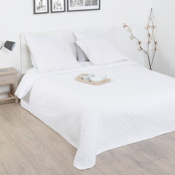 Boutis et taies d'oreiller (220 x 240 cm)