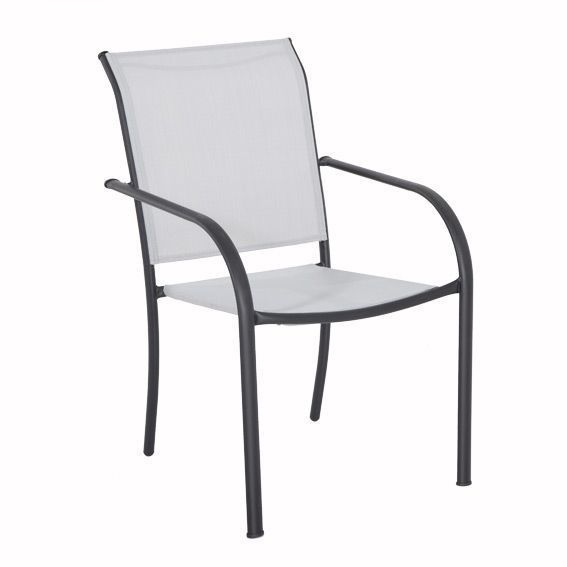 Fauteuil empilable Chaweng Gris