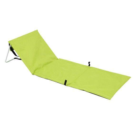 matelas de plage avec dossier d cathlon. Black Bedroom Furniture Sets. Home Design Ideas
