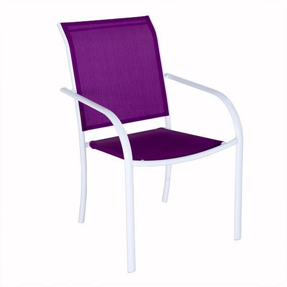 Fauteuil empilable Chaweng Violet