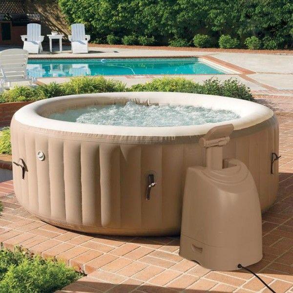 spa bulles 4 personnes beige intex piscine spa et. Black Bedroom Furniture Sets. Home Design Ideas