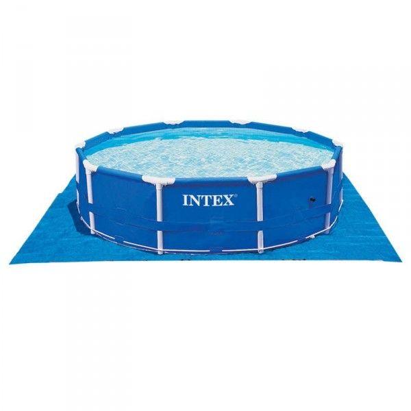 tapis de sol pour piscine intex piscine et accessoires. Black Bedroom Furniture Sets. Home Design Ideas