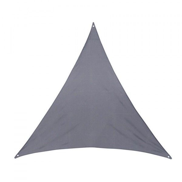 Voile d'ombrage Triangulaire (L3 m) Anori - Gris