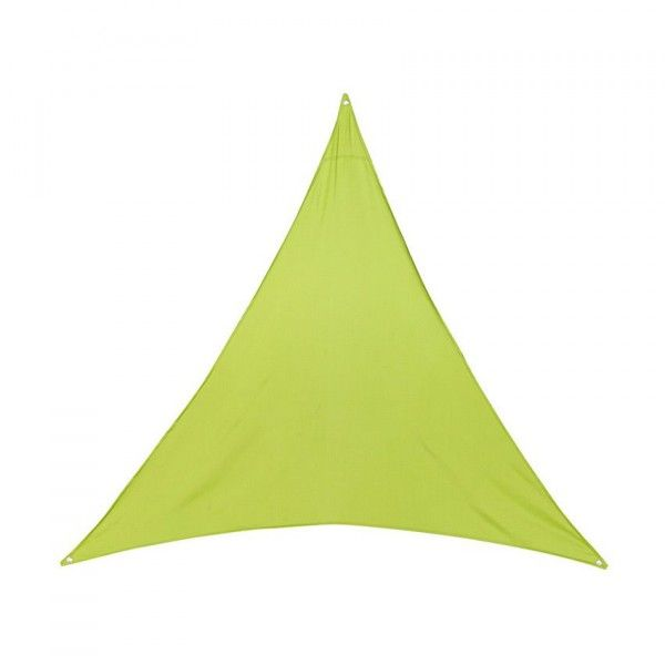 Voile d'ombrage Triangulaire (L3 m) Anori - Vert anis