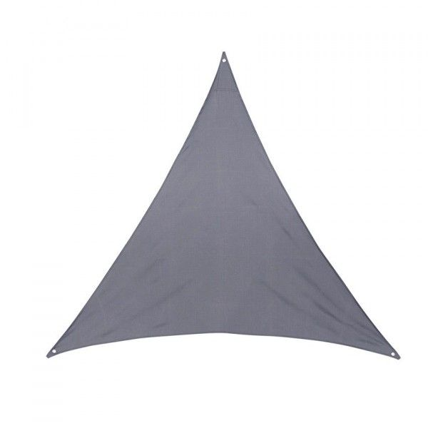 Voile d'ombrage Triangulaire (L4 m) Anori - Gris