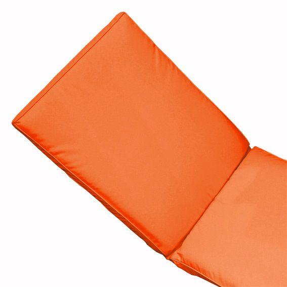 coussin bain de soleil garden orange textile d 39 ext rieur. Black Bedroom Furniture Sets. Home Design Ideas