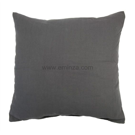 Coussin Contemporaine Anthracite