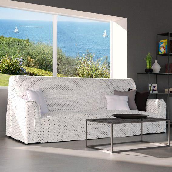 housse de canape kara blanc eminza With tapis de souris personnalisé avec canapé largeur 200 cm