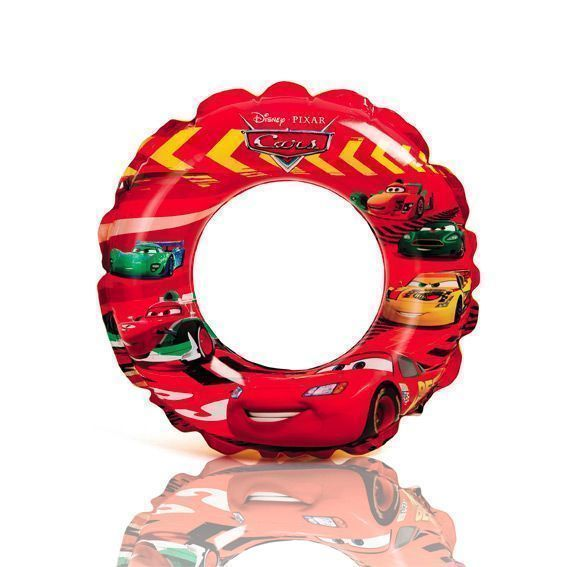 Bouée gonflable Disney Cars Intex