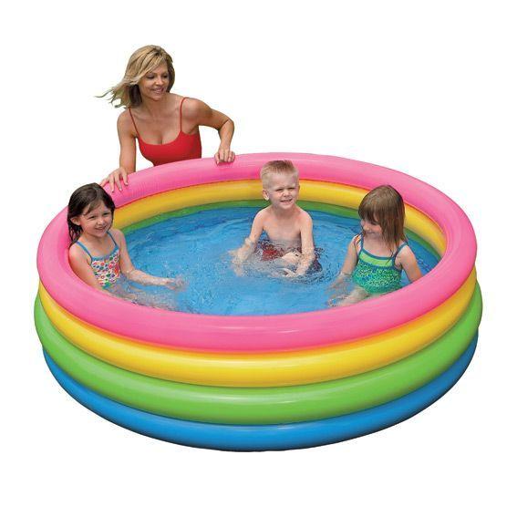 Amusez les enfants avec la piscine jamaica de la marque for Bouchon intex piscine