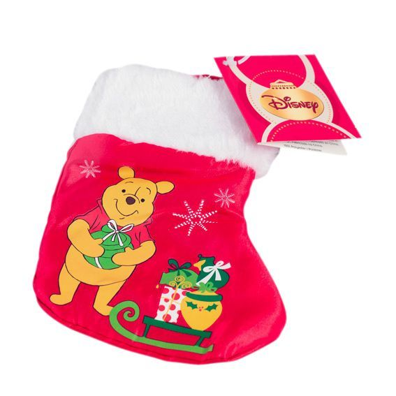 mini chaussette de nol disney winnie - Chaussette De Noel Disney