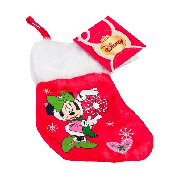mini chaussette de nol disney minnie - Chaussette De Noel Disney