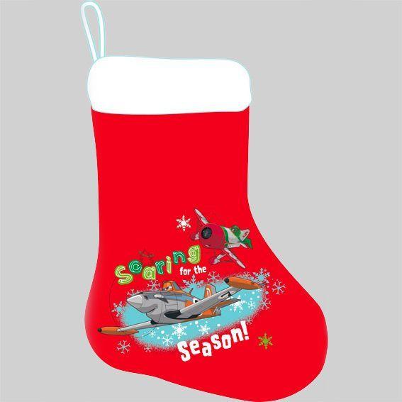 chaussette de nol disney planes - Chaussette De Noel Disney