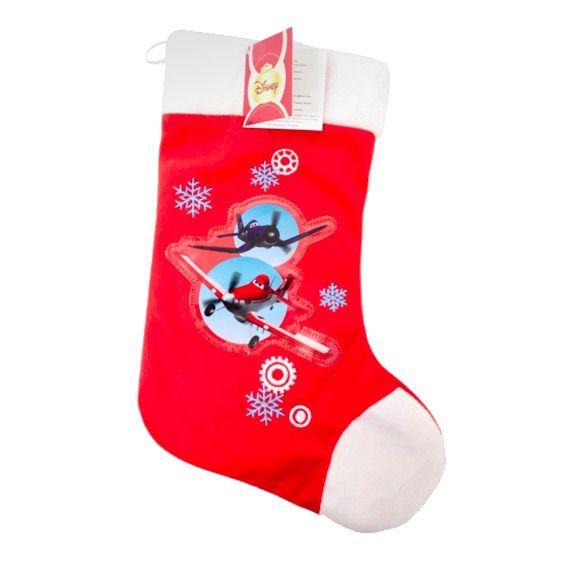 chaussette de nol disney super planes - Chaussette De Noel Disney