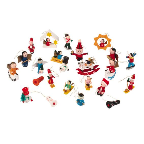 Lot de figurines fantaisistes pour village