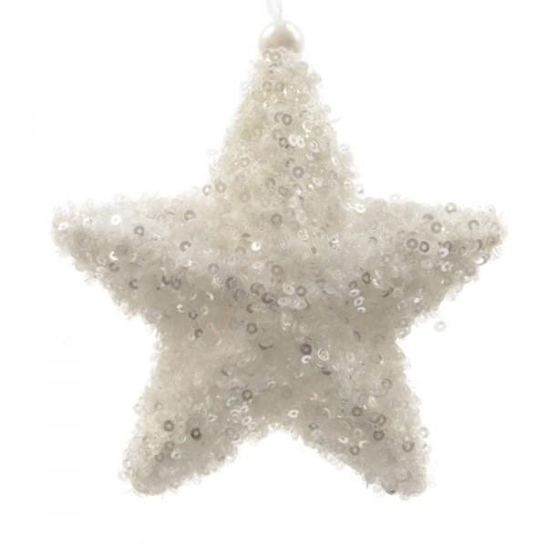 Stella Di Natale Bianca.Stella Di Natale Starlette Bianco