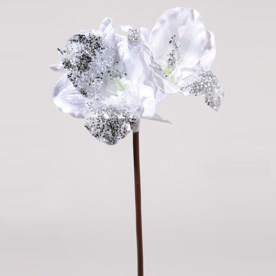 Fleur Artificielle De Noel Calienda Couronne Et Branche Eminza