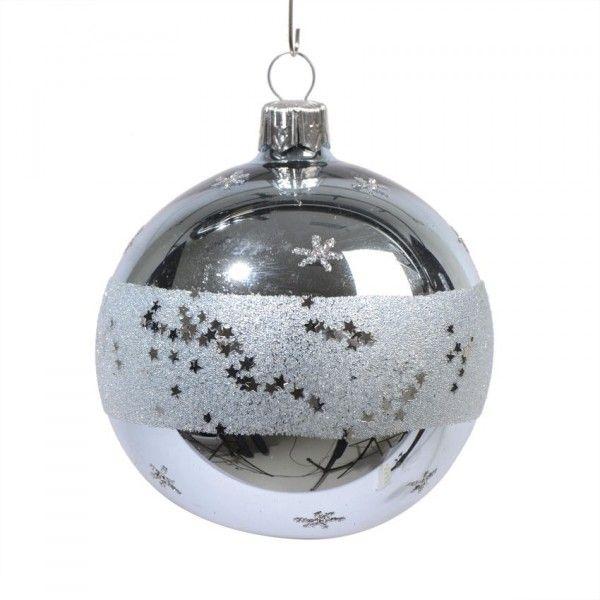 845039f706236 Lote de 6 bolas de Navidad (D70 mm) Morzine Azul - Bola y decoración ...