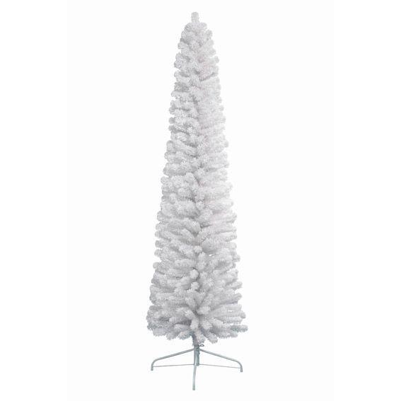Albero Di Natale Bianco 90 Cm.Albero Di Natale Artificiale New Pencil Alt 180 Cm Bianco