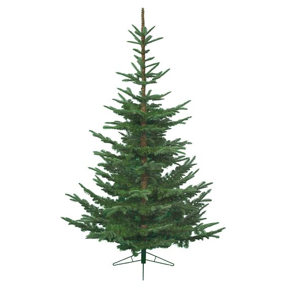 Alberi Di Natale Finti.Albero Di Natale Artificiale Nobilis Alt 150 Cm Verde Abete