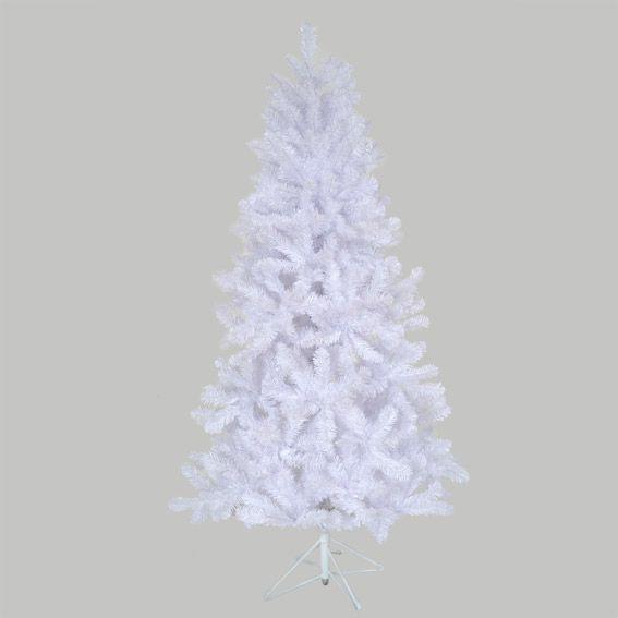 Sapin artificiel de no l imp rial h210 cm blanc sapin - Sapin de noel artificiel blanc ...