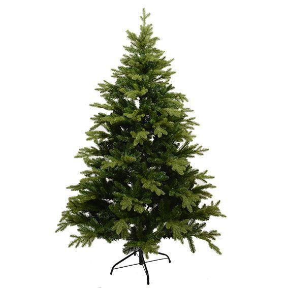 Albero Di Natale 150 Cm.Albero Di Natale Artificiale Kensington Alt 150 Cm Verde Abete