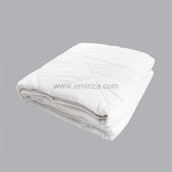couette 140 cm anti acarien blanc linge de lit eminza. Black Bedroom Furniture Sets. Home Design Ideas